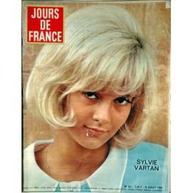 Jours De France N� 561 Du 14/08/1965 - Sylvie Vartan - La Mode A Deauville - B. Baer - Dr Soubiran - Hugo De Haan - H. Lauwick - M.L. Sondaz - Humour - Coq - Faizant - Aldebert - Blanc - Vigno. Exemplaire En Parfait Etat