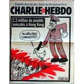 Charlie Hebdo N� 289 Du 31/12/1997 - Dans Les Bas-Fonds De Disneyland Paris - 1.3 Million De Poulets Executes A Hong Kong - Charb.