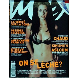 MAX N° 138 DU 01/07/2001 - LA VERITE SUR LA COKE - OBSEDES CELEBRES - SNOOP DOGG - G. MICHAEL - BOB MARLEY - AMERICAN PIE FRANCAIS - STEEVY ET BOURIQUET - LA FILLE EN COUV - KIM SMITH - ASLOUM - TOUT CE QUE L'ON PEUT FAIRE AVEC SA LANGUE.
