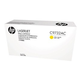 Hp C9732ac - Jaune - Original - Laserjet - Cartouche De Toner ( C9732a ) Contract - Pour Color Laserjet 5500, 5550