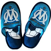 Chaussons Om - Collection Officielle Olympique De Marseille - Taille Adulte Homme