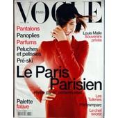 Vogue Paris N� 772 Du 01/11/1996 - Pantalons - Parfums - Peluches Et Pelisses - Pre-Ski - Louis Malle - Leparis Parisien - Les Tuileries - Portzamparc - Le Chef Secret - Palette Fauve.