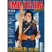 Armes Militaria Magazine N� 210 Du 01/01/2003 - 1914-18 - Le Casque De La Gendarmerie - Lalegion Tcheque - 1939-45 - Fanions De L'infanterie De Forteresse - Infirmiers Us - Le Masque A Gaz Allemand - Insignes - Artillerie Parachutiste - L...