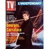 Tv Magazine L'independant N� 399 Du 18/08/2002 - La Vedette Du Feuilleton De L'ete Sur Tf1 - Georges Corraface - Un Heros Au Pays De L'odyssee
