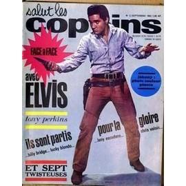 Salut Les Copains N� 2 Du 01/09/1962 - Elvis Presley - Tony Perkins - Johnny Hallyday .