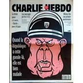 Charlie Hebdo N� 42 Du 14/04/1993 - La Droite Passe A 4 Morts - Charlie Passe A 16 Pages - Luz Matraque Par Les C.R.S. - Mickey Par Oncle Bernard - Luz.