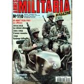 Armes Militaria Magazine N� 110 Du 01/09/1994 - Us Army 38 - 41 - Les Officiers - 1914 - 18 - Les Skieurs Allemands - 1941 - 45 - L'armee Roumaine - 1940 - Equipage Luftwaffe - La 12eme Div Hj.