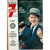 Tele 7 Jours N� 174 Du 20/07/1963 - Leon Zitrone - Jacques Anquetil - Dominique Paturel.