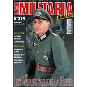 Armes Militaria Magazine N� 219 Du 01/10/2003 - 1914-18 - Les Bidons Allemand - L'officier Belge - 1939-45 - Les Goumiers En Italie - Navigateur B-17 8th Air Force - 40- Officier Groupe Auto - Les Vareuses De La Heer.