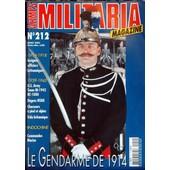 Armes Militaria Magazine N� 212 Du 01/03/2003 - 1914-18 - Insignes Officiers Britanniques - 1939-45 - Us Army - Tenue M-43 Bc-1000 - Dagues Nskk - Chasseurs A Pied Et Alpins Et Velo Britannique - Indochine - Commandos Marine - Le G...