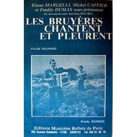Les bruyères chantent et pleurent - Partition - Editions musicales Reflets de Paris