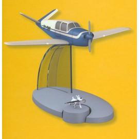 Collection Hachette Ed. Moulinsart En Avion Tintin N�19 L'avion Bleu Des Kidnappe L'affaire Tournesol