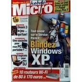 Micro Hebdo N� 334 Du 15/09/2004 - Creez Un Vrai Dessin Anime Avec Paint Shop Pro 7 - Blindez Windows Xp - Doom 3 - Sacoche Pour Mon Pc Portable - 5 Logiciels Pour Etre Dj - 10 Routeurs Wi-Fi.