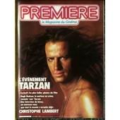 Premiere N� 91 Du 01/10/1984 - Tarzan - Christophe Lambert.