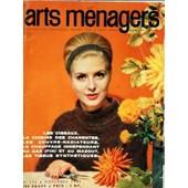 Arts Menagers N� 155 Du 01/11/1962 - Les Ciseaux - La Cuisine Des Charentes - Les Couvre-Radiateurs - Le Chauffage Independant Au Gaz Et Au Mazout - Les Tissus Synthetiques