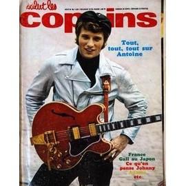 Salut Les Copains N� 49 Du 01/08/1966 - J. Hallyday - France Gall Au Japon - Adamo - Antoine.Johnnu Hallyday Sonny And Cher - Mireille Darc