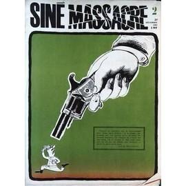 Sine Massacre N� 2 Du 27/12/1962 - Guy De Maupassant.