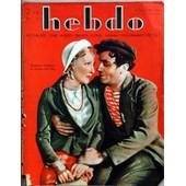 Hebdo N� 40 Du 12/01/1934 - Madeleine Ozeray Et Charles Boyer - A. Birabeau - Le Loch Ness Par Puglionisi - M. De Waleffe - Angola Pulman - Ch. De Caters - Le Pere Bouron Par Bouvier - Rene Lyr - P. Blois - J. Bruyr - E. Jacob - G. Le Cardonnel...