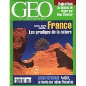 Geo 2001 (N� 271) France - Prodige De La Nature - Chili - Les Revolte Des Indiens Mapuches - Rajasthan - Femmes Du Desert Par Hans Silvester.