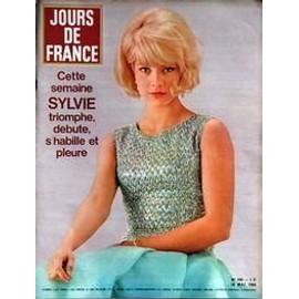 Jours De France N� 496 Du 16/05/1964 - Sylvie Vartan.
