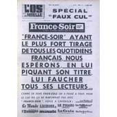 Os A Moelle (L') N� 52 Du 15/04/1965 - Special Faux Cul Dessin De Sempe Pleine Page Dessin De Sempe Pleine Page Dessin De Jicka