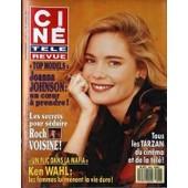 Cine Tele Revue N� 8 Du 22/02/1990 - Tous Les Tarzan Du Cinema - Joanna Johnson - Roch Voisine - Ken Wahl.