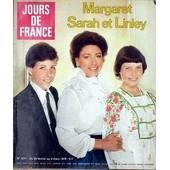 Jours De France N� 1211 Du 25/02/1978 - Margaret Sarah Et Linley. Princesse Margaret Et Ses Enfants Andr+� Diligent Secr+�Taire G+�N+�Ral Du Centre Des D+�Mocrates Sociaux Princesse Margaret La F-�te Du Petit +�Cran -� Monaco Marl-�ne Jobert Sept ...