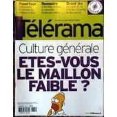 Telerama N� 2795 Du 09/08/2003 - Bollywood - Cinema Italien - Ellen Mac Arthur - Culture Generale - Etes-Vous Le Maillon Faible.