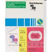 Athl�tisme Championnat D'europe Stuttgart 1986
