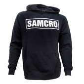 Sweat Capuche Sons Of Anarchy - Samcro Logo Hooded Sweat
