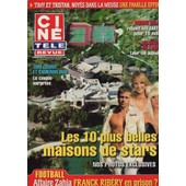 Cin� T�l� Revue (Belge) / 29-07-2010 N�30 : Tom Cruise / Cameron Diaz (2p) - Robbie Williams (1p)