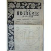 1953 1 Fevrier No 1092 La Broderie Lyonnaise Point Croix Point Croix Magazine Ancien de La Broderie Lyonnaise
