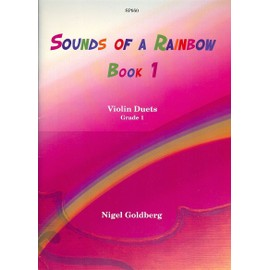 Sounds of a Rainbow Book 1 Violin Duets 36 pieces Grade 1