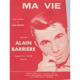 """Alain Barrière """"Ma Vie"""""""
