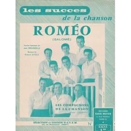 """Les Compagnons de la chanson """"Roméo"""""""