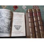 Les Metamorphoses D'ovide Traduite En Fran�ois Par Mr. Duryer de OVIDE