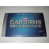 Ticket Entr�e Billet Collector Walt Disney Marvel Les Gardiens De La Galaxie