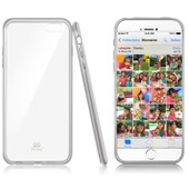 Caseink - Coque Semi Rigide Gel Extra Fine Crystal Clear Transparente Pour Iphone 6 / 6s (4.7)