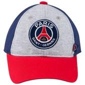 Casquette Psg B�b� Gar�on - Collection Officielle Paris Saint Germain - Football - Blason Maillot