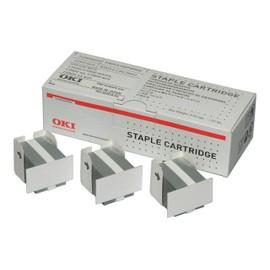 Oki - Agrafes (Pack De 15000 ) - Pour C910, 9600, 9650, 9800; Es 7170, 7470, 7480; Mb 770