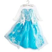 Robe Elsa La Reine Des Neiges Frozen D�guisement Costume Personnage Princesse Enfant