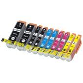10 X Cartouche D'encre Avec Puce Compatible Epson 26, 26xl, C13t26164010, C13t26364010 Pour Imprimantes Expression Premium Xp-600, Expression Premium Xp-610, Expression Premium Xp-510, Expression