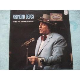 """Raymond  Devos - Y'a d'la joie sur fond de tristesse -  Grand prix international du disque """"Académie Charles CROS """""""