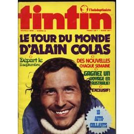 Tintin L'hebdoptimiste N� 35 : Le Tour Du Monde D'alain Colas