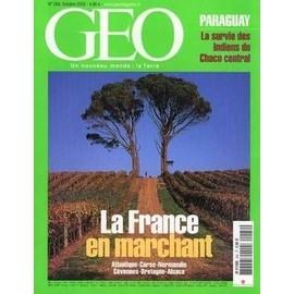 Geo 2002 (N� 284) La France En Marchant - Atlantique - Corse - Normandie - Cevennes - Bretagne Et Alsace - Paraguay - Survie Des Indiens Du Chaco Central.