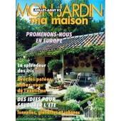 Mon Jardin Ma Maison N� 395 Du 01/07/1992 - Promenons-Nous En Europe - La Splendeur Des Iris - Avec Les Potees - Des Idees Pour Savourer L'ete - Tonnelles - Gloriettes Et Cabanes