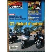Moto Journal N� 1358 Du 14/01/1999 - Sepcial Dakar - Comparatif - Kawasaki Gtr 1000 - Triumph Tropphy 900 Et Yamaha Diversion 900 Gt - Gt - Ticket D'entree - 50 Ans Avec Honda - C. Lavieille - Kawa Ninja 900 - Suz Katana 1100 - Nost...