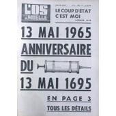 Os A Moelle (L') N� 56 Du 13/05/1965 - Anniversaire Du 13 Mai 1695 Dessin De Sempe Pleine Page