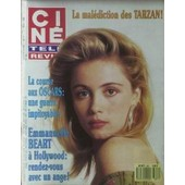 Cine Tele Revue N� 11 Du 17/03/1988 - Les Tarzan - Les Oscars - Emmanuelle Beart A Hollywood.