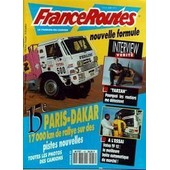 France Routes N� 136 Du 01/02/1993 - Tarzan - Pourquoi Les Routiers Me Detestent - 15eme Paris-Dakar - Volvo Tf 12.